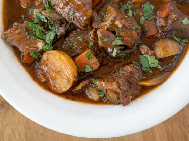 Roger Bissell Prepares Guinness Beef Stew